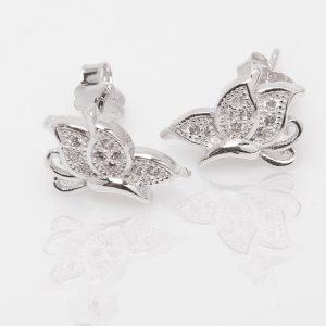 Pendientes Mariposas Ladeados