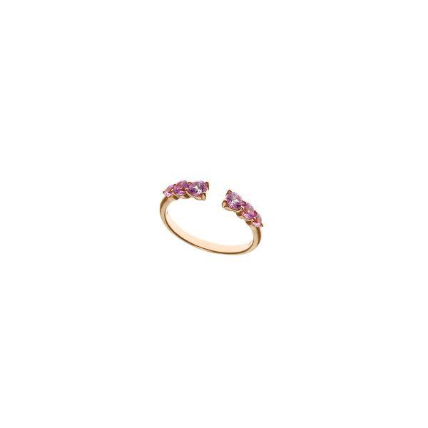 Anillo de plata rosa Pink