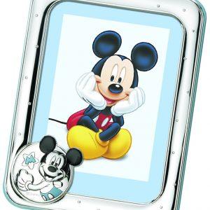 Marco azul esmaltado Mickey Mouse