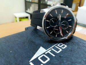 Reloj de caucho de lotus calidad precio