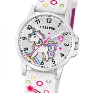 Calypso K5776-4 Reloj Unicornio blanco