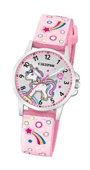 Calypso K5776-5 Reloj Unicornio rosa