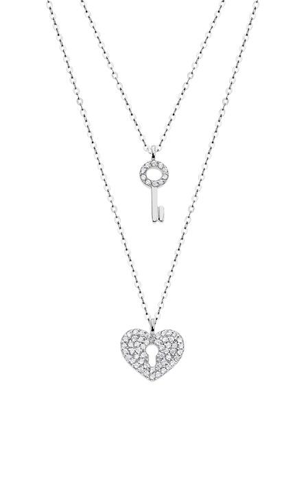 LP1680-1_1 Collar doble corazón y llave