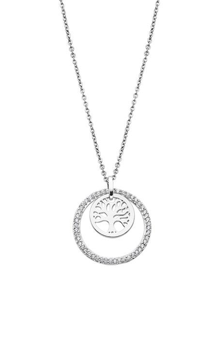 LP1688-1/1 Gargantilla lotus Árbol de la vida