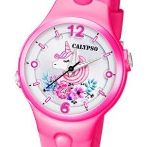 Calypso K5783/6 Reloj con luz de Unicornio blanco