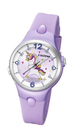 Calypso K5784/3 Reloj de Unicornio infantil morado