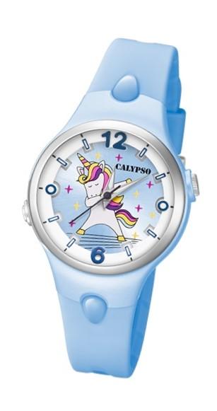 Calypso K5784/4 Reloj de Unicornio infantil azul