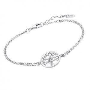 LP1857-2-1 Pulsera Árbol de la vida en plata marca Lotus