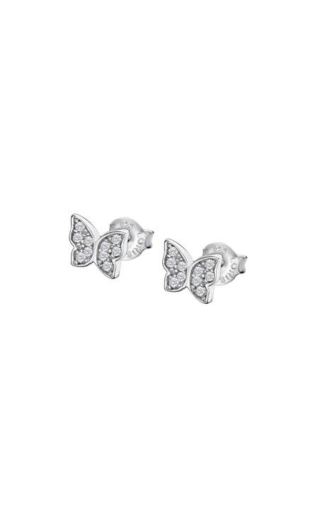 Pendientes de mariposa en plata de ley marca lotus LP3051-4/1