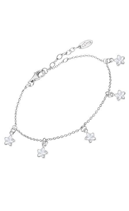 Pulsera de colgantes con forma de estrellas en plata de Ley de La marcaLotus lp3191-2/1