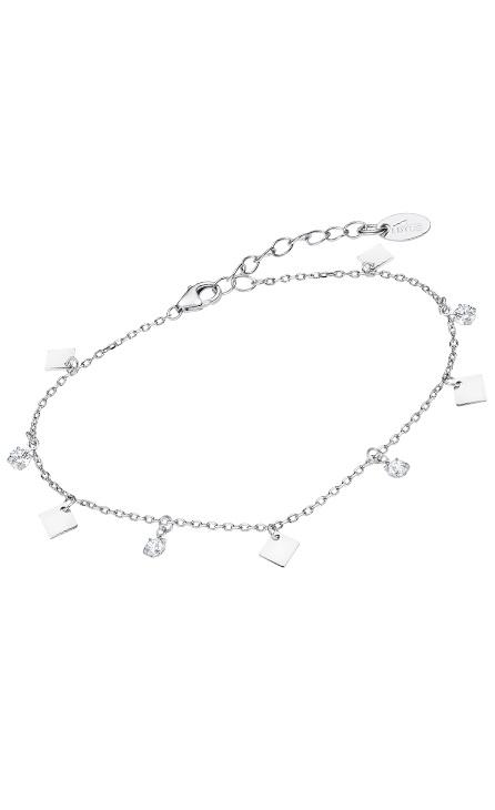 Pulsera de plata con colgantes geométricos Marca Lotus lp3182-2/1